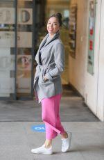 KATYA JONES Leaves BBC Morning Live TV in London 06/21/2021