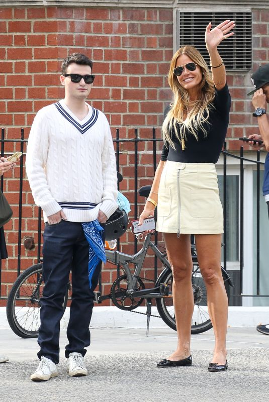 KELLY BENSIMON and Josh Tepper Out in New York 06/01/2021