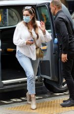 KELLY BROOK Out in London 06/18/2021