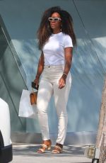 KELLY ROWLAND Out Shopping in Beverly Hills 06/29/2021