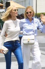 KELLY RUTHERFORD Out Shopping with Her Mom in Beverly Hills 06/29/2021