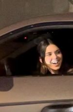 KENDALL JENNER Out Driving in Los Angeles 06/04/2021