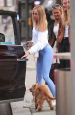 KIMBERLEY GARNER Out and About in London 06/07/2021