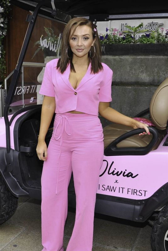 KIMBERLY HART-SIMPSON at Olivia Attwood x ISawItFirst Collection Launch Party in Manchester 06/14/2021