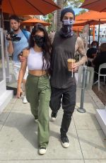 KOURTNEY KARDASHIAN and Travis Barker Out in Los Angeles 06/15/2021