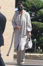 KRIS JENNER Leaves Nobu in Malibu 06/14/2021