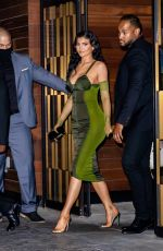 KYLIE JENNER Leaves Parsons Benefit at Pier 17 in New York 06/15/2021