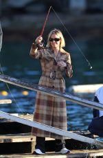 LARA BINGLE Out Fishing in Sydney 06/03/2021