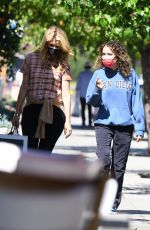 LAURA DERN and JAYA HARPER Out for Breakfast in Brentwood 06/13/2021