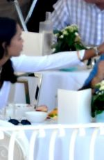 LAURA HARRIER on Holiday in Positano 06/16/2021