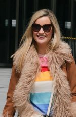 LAURA WHITMORE Arrives at BBC Studios in London 06/06/2021