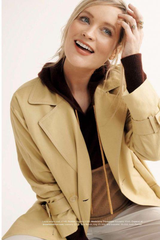 LAURA WHITMORE in Grazia Magazine, UK March 2021