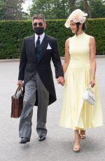 LAUREN SILVERMAN and Simon Cowell at Royal Ascot 06/15/2021