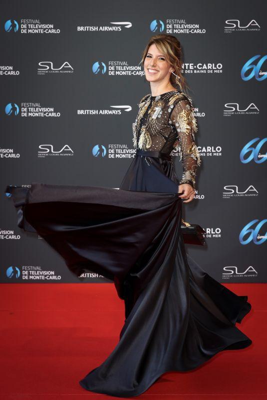 LEA FRANCOIS at 60th Monte Carlo Film Festival Opening Ceremony in Monaco 06/18/2021
