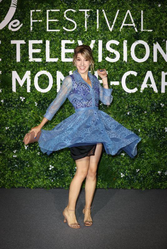 LEA FRANCOIS at Plus Belle La Vie Photocall at 2021 Monte Carlo Festival 06/19/2021