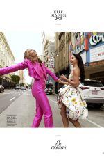 LESLIE GRACE and MELISSA BARRERA in Elle Magazin, June/July 2021