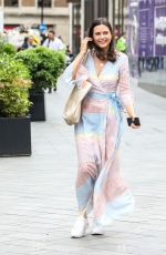 LILAH PARSONS Arrives at Global Radio in London 06/17/2021