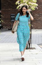 LILAH PARSONS Leaves a Photoshoot in London 06/10/2021