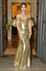 LILY ALDRIDGE at Bvlgari Concert at Teatro Alla Scala in Milan 06/03/2021