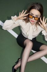 LILY COLLINS for YSL Spring/Summer 2021 Campaign
