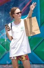 LILY-ROSE DEPP Out Shopping in New York 06/19/2021