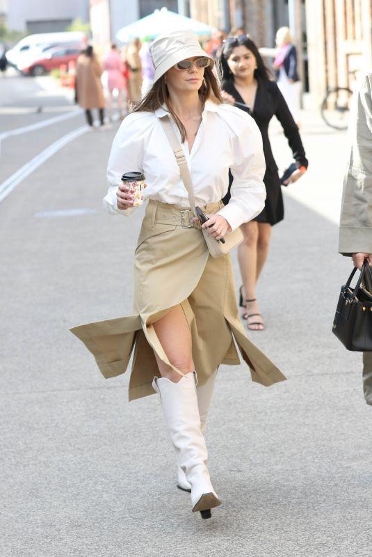 LISA HYDE at Afterpay Australian Fashion Week Street Style in Sydney 06/01/2021