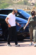 LISA RINNA and Harry Hamlin Heading to Lunch in Malibu 06/13/2021