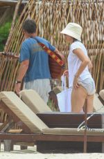 LISA RINNA on Vacation in Mexico 06/15/2021