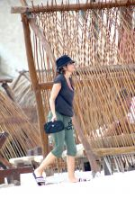 LISA RINNA Out in Tulum 06/16/2021