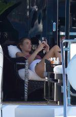 LORENA RAE in Bikini at a Yacht in St-Tropez 06/25/2021