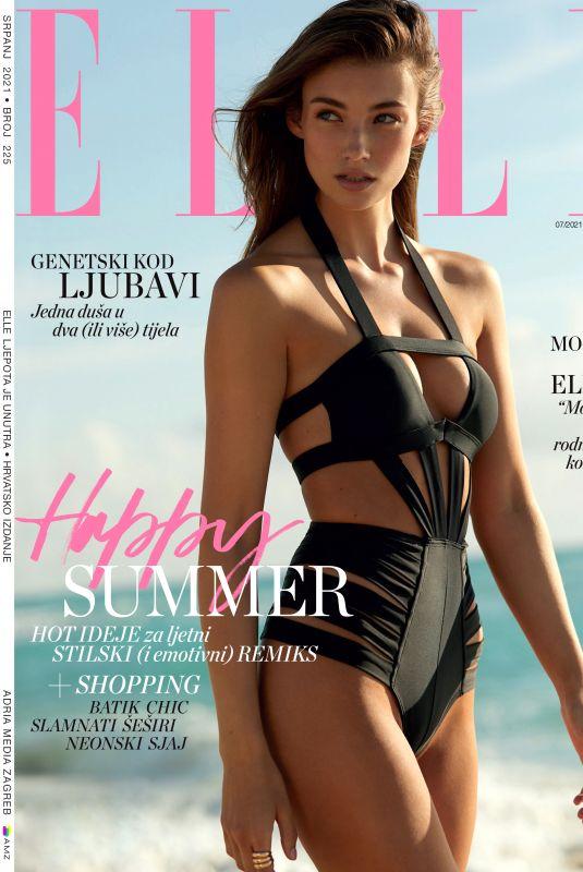 LORENA RAE in Elle Magazine, Croatia July 2021