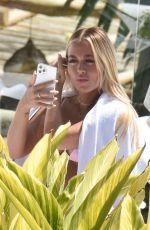 LOTTIE TOMLINSON in Bikini in Marbella 06/30/2021