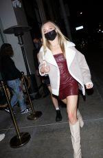 MADDIE ZIEGLER at Catch LA in West Hollywood 06/03/2021
