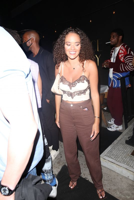 MADISON PETTIS at The Nice Guy in Los Angeles 06/01/2021