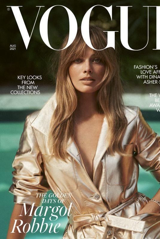 MARGOT ROBBIE in Vogue Magazine, UK July 2021