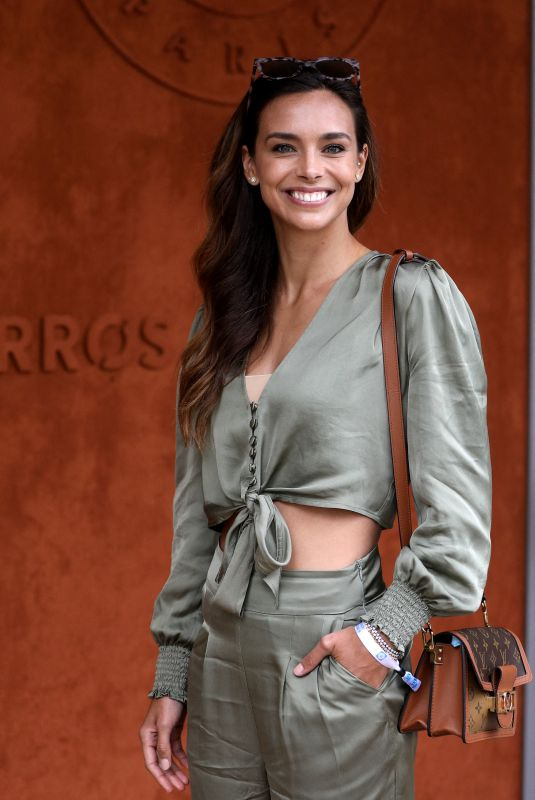 MARINE LORPHELIN at French Open at Roland Garros in Paris 06/05/2021