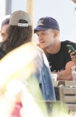 MARLOES STEVENS and Cody Simpson Out for Breakfast on Gold Coast 06/19/2021