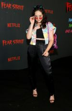 MARY MOUSER at Fear Street Trilogy Premiere in Los Angeles 06/28/2021