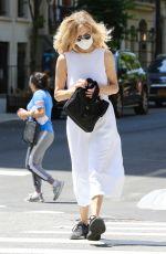 MEG RYAN Out Shopping in New York 06/18/2021
