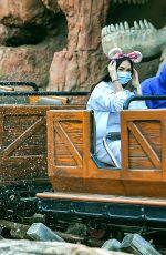 MEGAN FOX and Machine Gun Kelly at Disneyland in Anaheim 06/03/2021