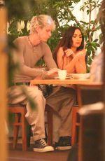 MEGAN FOX and Machine Gun Kelly at Matsuhisa Restaurant in Beverly Hills 06/01/2021