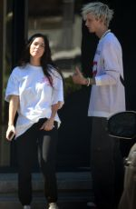MEGAN FOX and Machine Gun Kelly Out in Los Angeles 06/04/2021