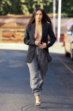 MEGAN FOX Leaves a Photoshoot in Los Angeles 06/11/2021