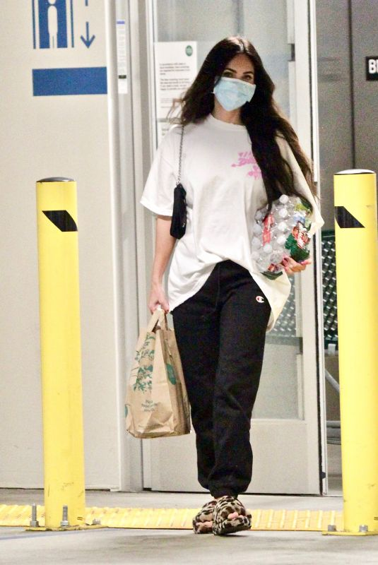 MEGAN FOX Out Shopping in Los Angeles 06/05/2021