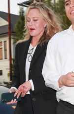 MELANIE GRIFFITH at San Vicente Bungalows in West Hollywood 06/29/2021