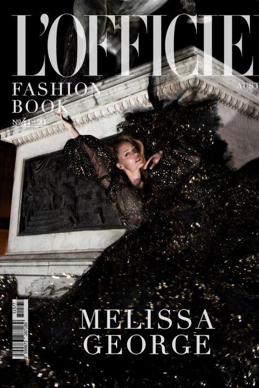 MELISSA GEORGE for L'Officiel Fashion Book, Australia June 2021