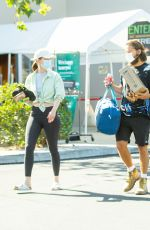 MIA GOTH and Shia Labeouf at Pavilions and a Camping Store in Pasadena 06/06/2021
