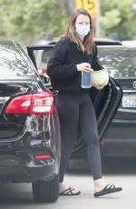 MIA GOTH Out for Lunch at Kreation Juice in Pasadena 06/07/2021