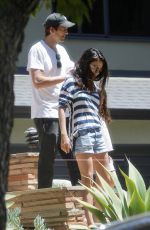 MILA KUNIS and Ashton Kutcher Out in Los Angeles 06/12/2021