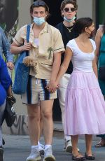 MILLIE BOBBY BROWN and Jake Bongiovi Out in New York 06/17/2021